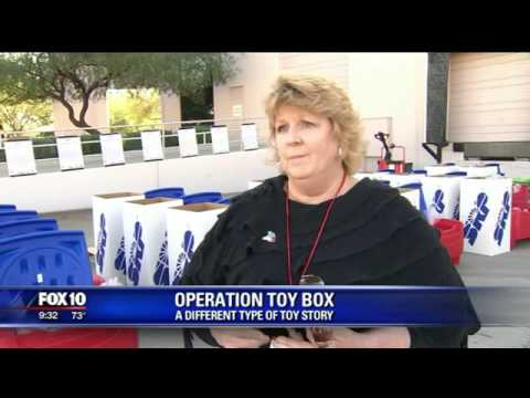 Dircks Moving & Logistics hosted the Scott Foundation's Operation Toy Box