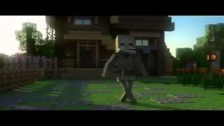 Клип Minecraft Песня Скелета №1