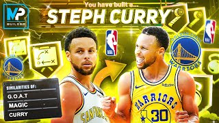 *NEW* STEPH CURRY BUILD IS GLITCHY (NBA 2K20 BEST PLAYMAKING SHOT CREATOR BUILD)