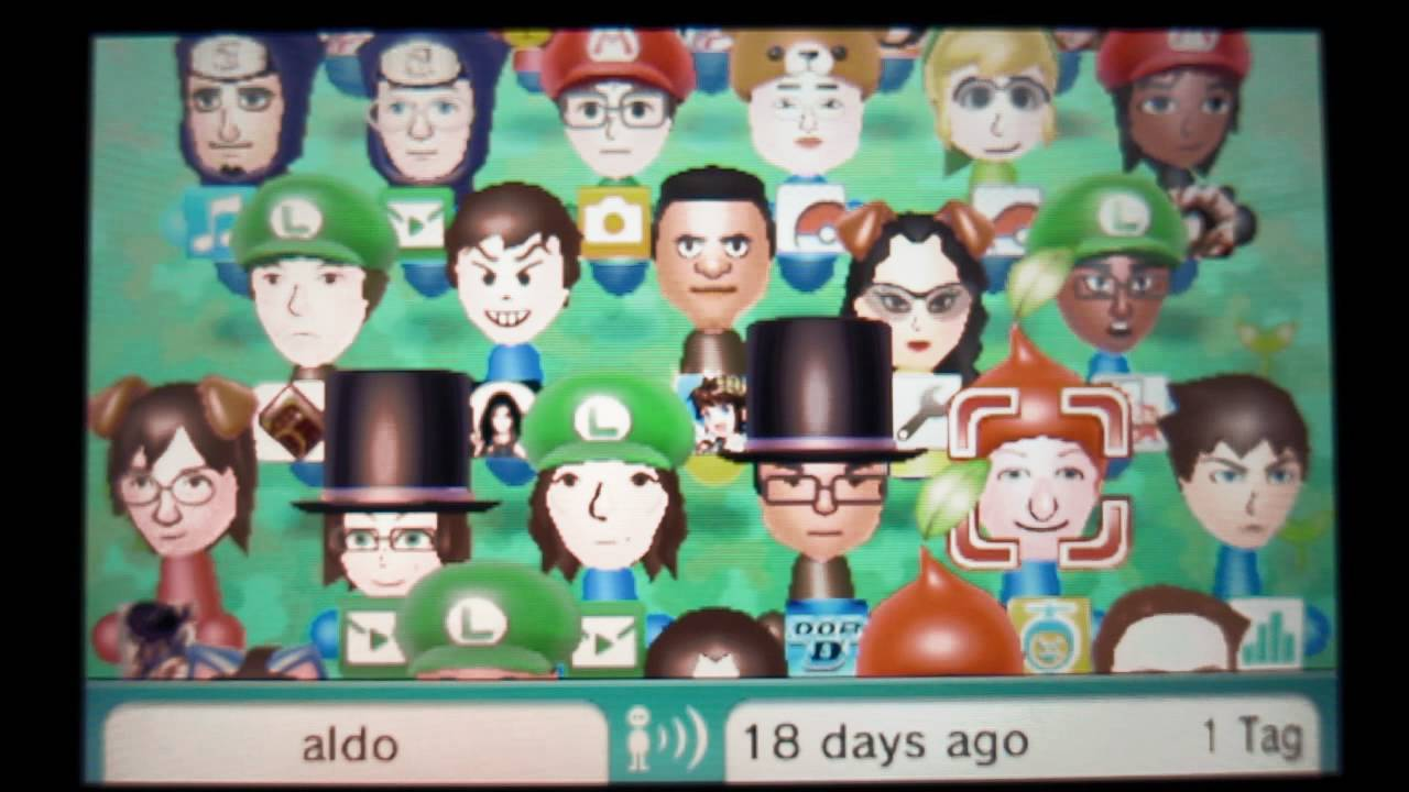 Nintendo 3ds Streetpass Mii Plaza Collection April 2012 Part 1 Youtube