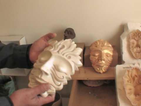 Liquid latex clay works