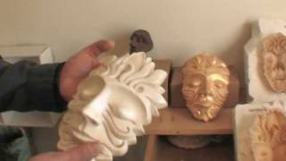 Mask making part 1-How to apply liquid latex