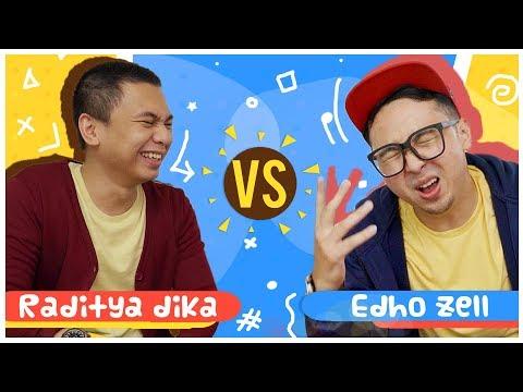 RADITYA DIKA vs EDHO ZELL !! - Perang Youtubers !