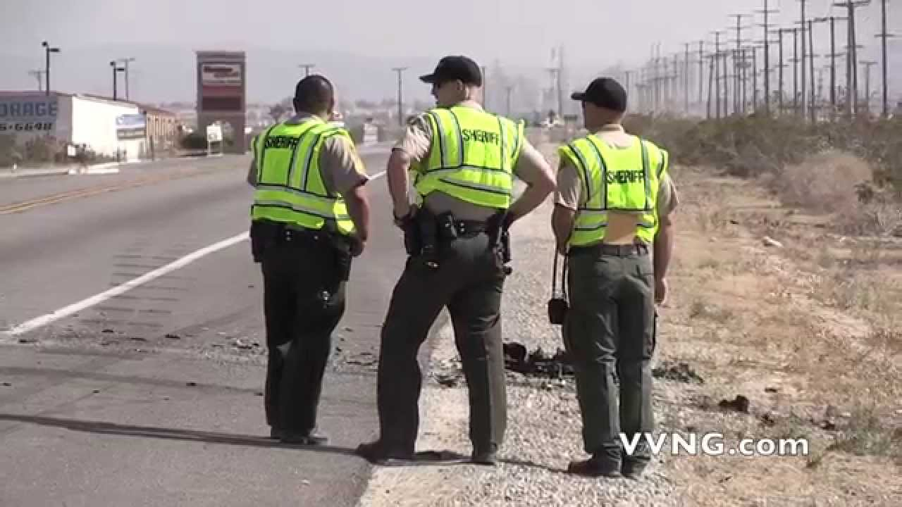 Fatal Two Vehicle Accident on Highway 395 in Adelanto