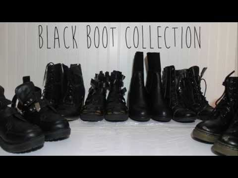 Black Boot Collection