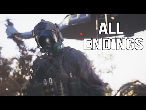 Resident Evil 7 - All Endings (Ending 1 + Ending 2)