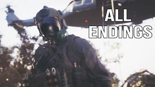 Resident Evil 7 - All Endings Ending 1 Ending 2