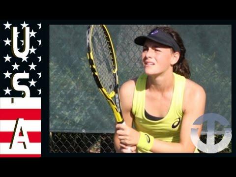 Ingrid Neel | Rising US Tennis Star on Trans World Sport