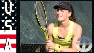 Ingrid Neel | Rising US Tennis Star on Trans World Sport