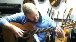"""Gerhard Gschossmann -  """"Air on a G-string"""", J.S. Bach, BWV 1068, guitar solo fingerstyle"""