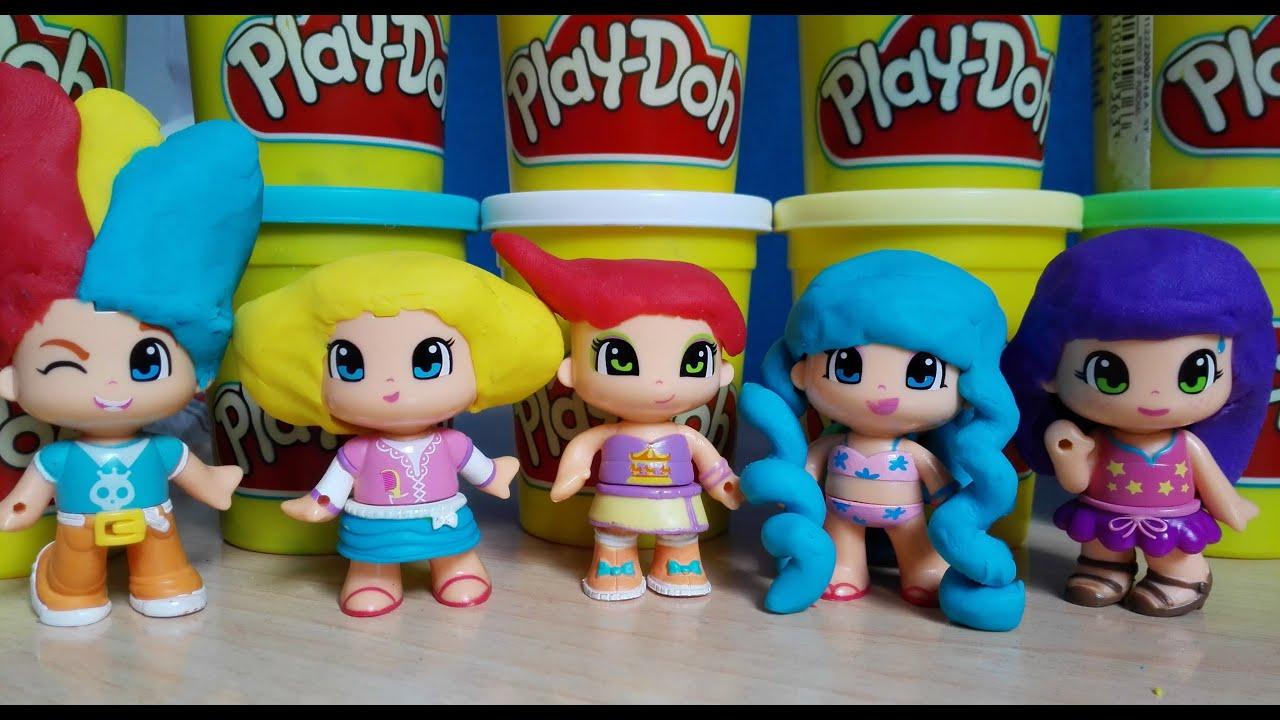 De Play Pinypon Peinados Plastilina Hairstyles Doh 34AjqR5L