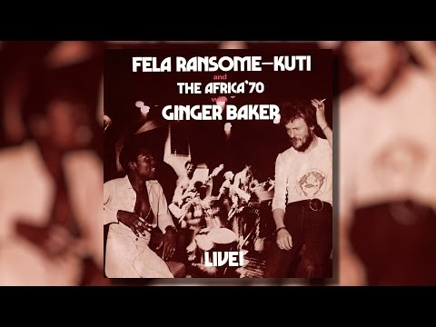 Fela Kuti - Live With Ginger Baker (LP)