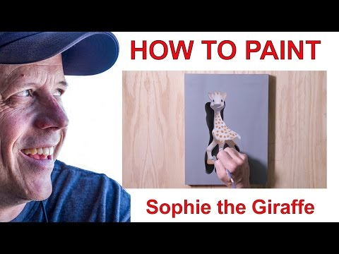 HOW TO PAINT: Sophie the Giraffe
