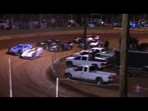 Winder Barrow Speedway Limited Late Model Feature Race 3/18/17