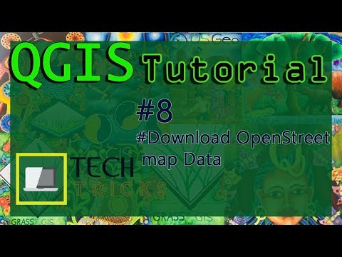 How to download Open street map data in Qgis#8