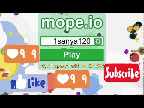 Mope.io новая игра на телефон!/ Zoger затупил и здоровья!