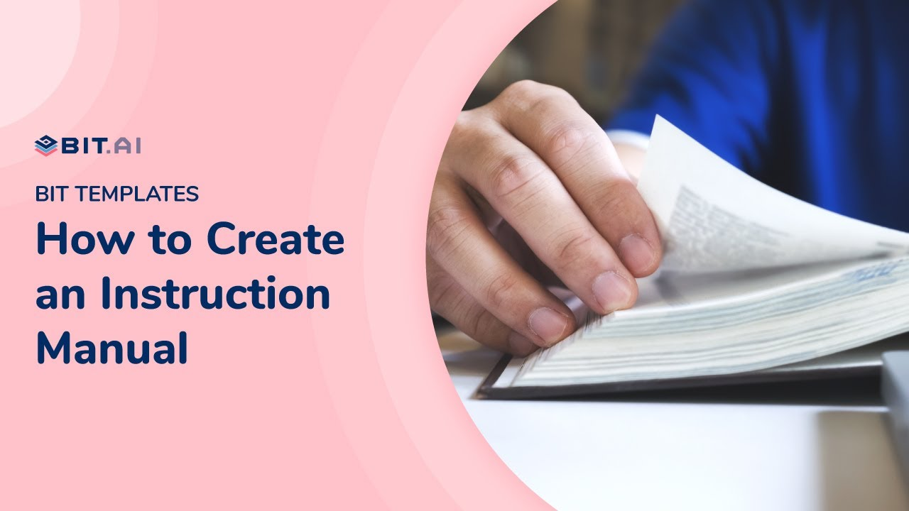 What is Instruction Manual & How To Write it! (Template Included)