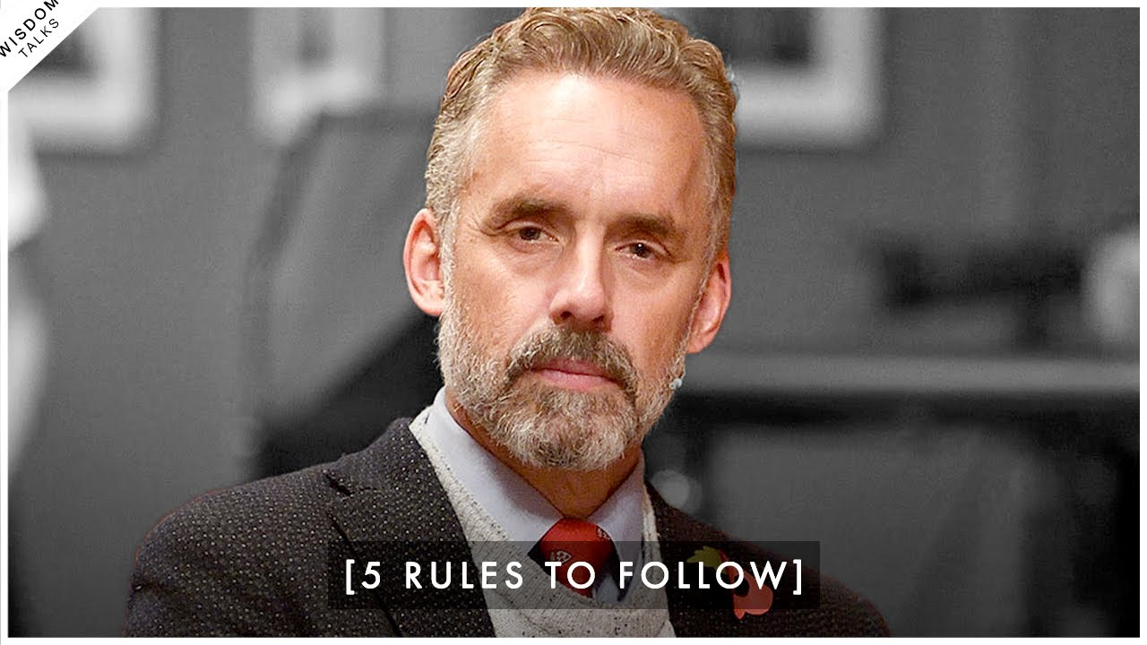 5 Rules That Will Immediately Change Your Life! - Jordan Peterson | Lewis Howes Podcast