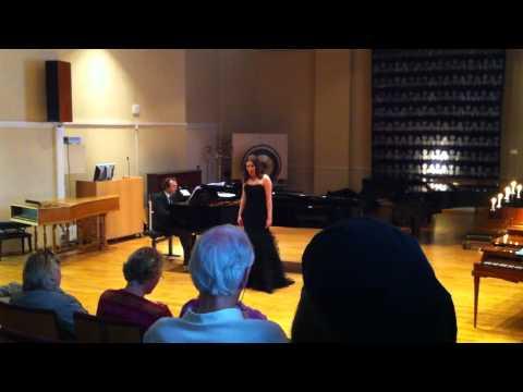 Ingeborg Aadland, eksamenskonsert, Grieg Academy, Bergen  3/4