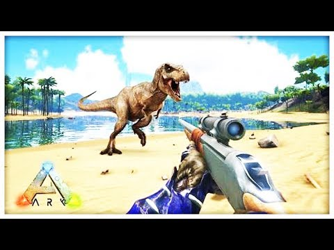 STRONGEST GUN IN THE GAME OP - MODDED ARK SURVIVAL EVOLVED SCORCHED EARTH #7