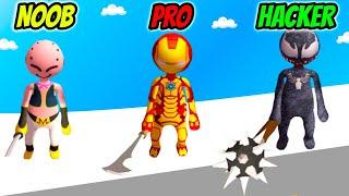 Stickman Smashers Clash 3D - NOOB vs PRO vs HACKER screenshot 1