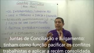 AULA HISTÓRIA - A ERA VARGAS PARTE 1 - MAR 13 - PROF. PAULO TOWESEND