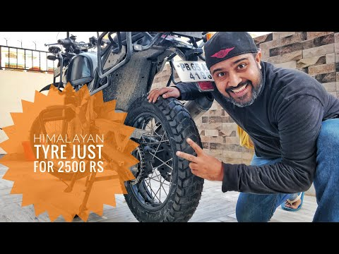 HIMALAYAN TYRE/TUBE JUST FOR 2500 | LED HEADLIGHT