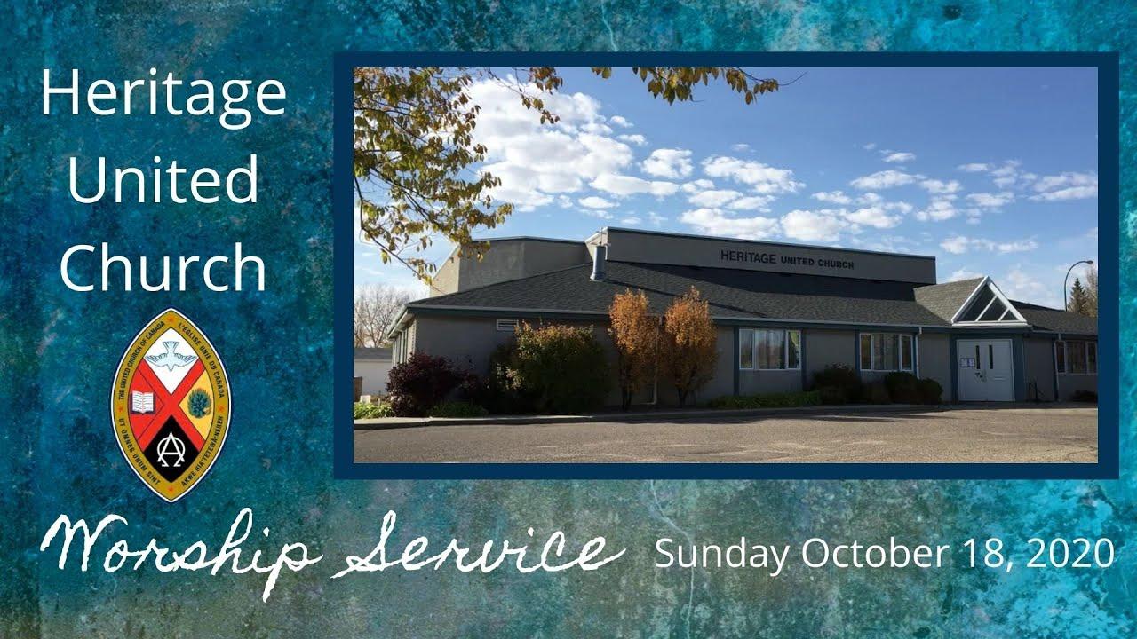 Worship Service - Sunday October 18, 2020