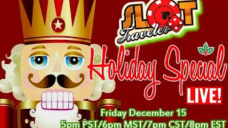 🔴 LIVE: 🎅  UNBOXING YOUR CHRISTMAS CARDS ❄🎄 ☞ Slot Traveler thumbnail