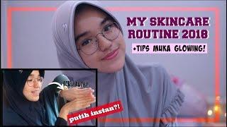 Download Video Tips Muka Glowing & Putih!😍 // Skincare Routine 2018 (99% DRUGSTORE) MP3 3GP MP4