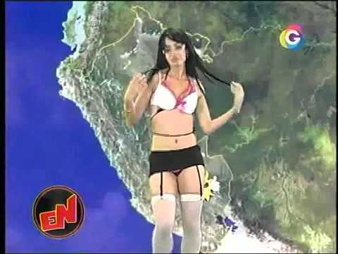 El Noticioso - Chica del Tiempo 15-05-12 thumbnail