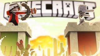 СИЛЬНЫЕ ПРОТИВНИКИ! СМОЖЕМ МЫ ПРОДЕРЖАТЬСЯ? ВОЙНА КРЕПОСТЕЙ! Minecraft Castles