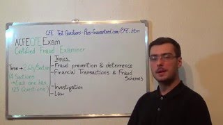 CFE – Certified Exam Fraud Test Examiners Questions
