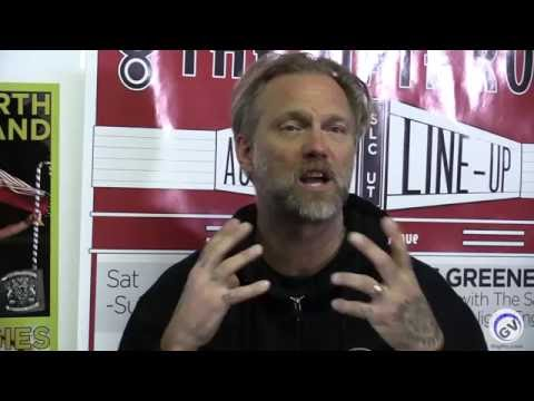Anders Osborne Interview at The State Room with Rick Gerber April 6, 2016