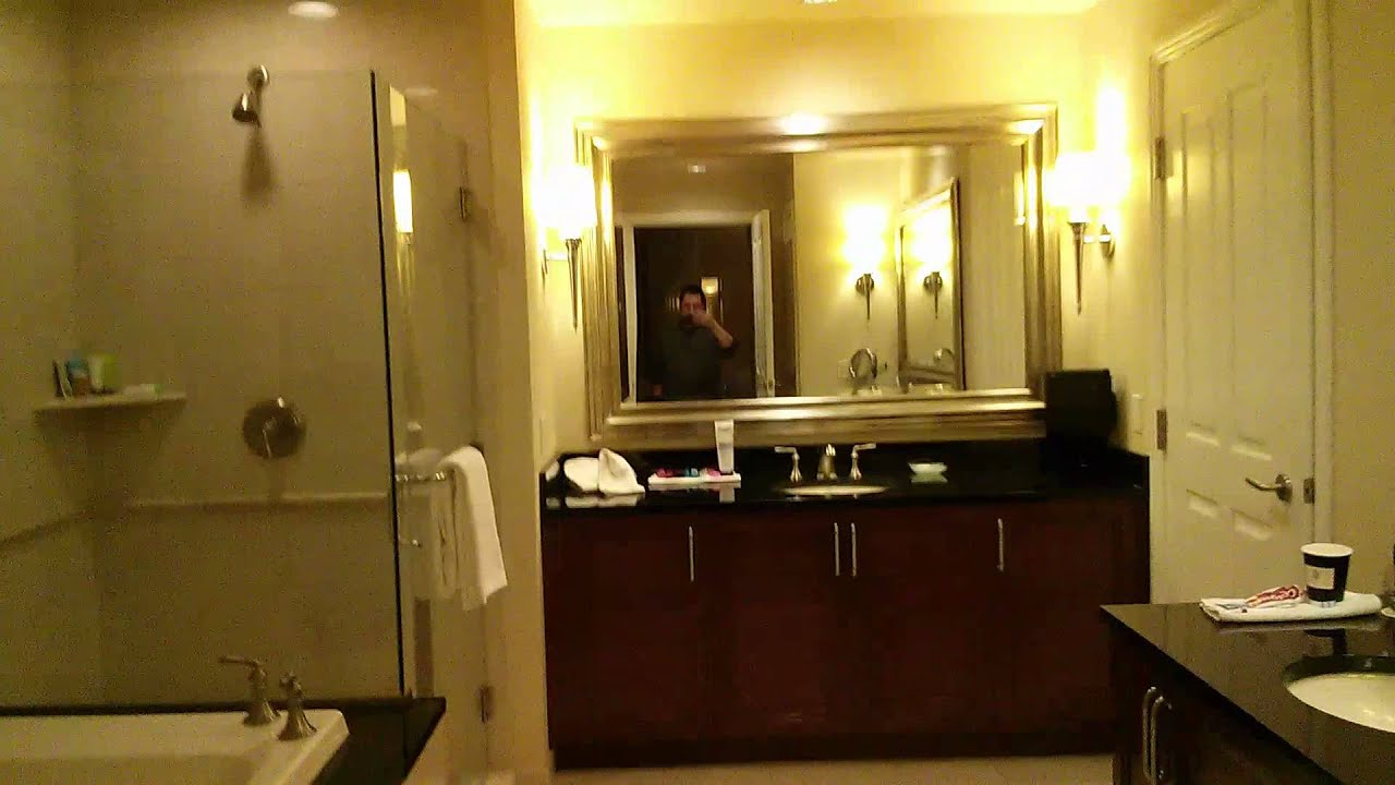 mgm signature one bedroom balcony suite. MGM signature one bedroom suite walkthrough  YouTube