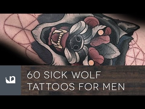 60 Sick Wolf Tattoos For Men