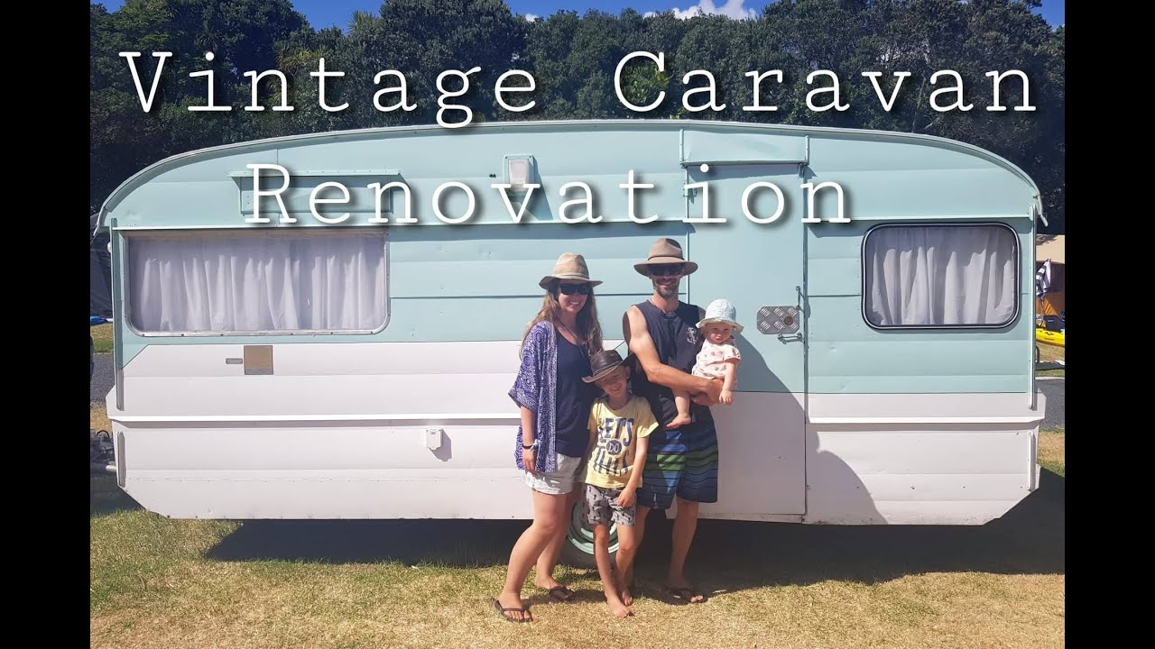 VINTAGE CARAVAN RENOVATION VIDEO - THE FULL PROCESS, BEFORE & AFTER