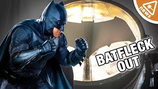 Is Batfleck Finally Out of the DCEU? (Nerdist News w/ Amy Vorpahl)