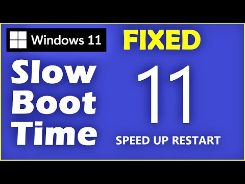 Windows 11 - How to Fix Slow Boot Time in Windows 11