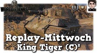 World of Tanks - King Tiger (c), deutscher Panzer, premium Amerikaner [deutsch | Replay]