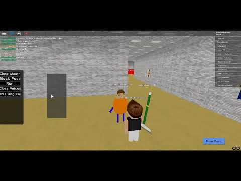 Roblox Baldi Basic Education In Learning Being The Characters