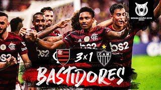 Bastidores - Flamengo 3x1 Atlético-MG