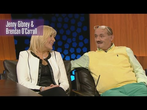 How Brendan O'Carroll Proposed to Jenny Gibney  The Late Late   RTÉ One