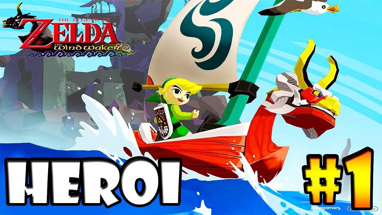 O Herói Lendário aparece =]  - #1 Zelda Wind Waker