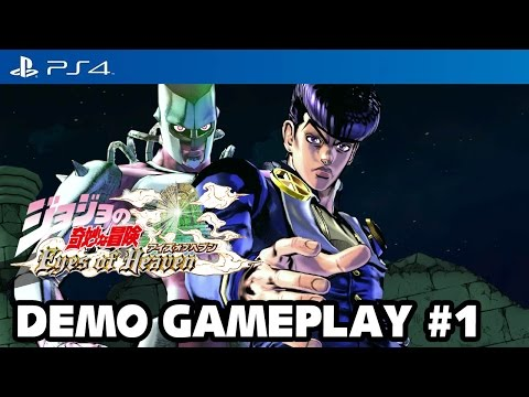 JoJo's Bizarre Adventure: Eyes of Heaven - PS4 Demo Gameplay #1 [1080p] TRUE-HD QUALITY