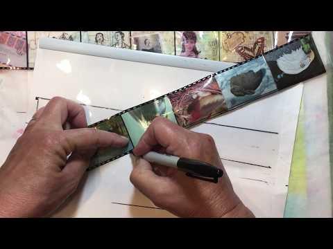Build Your Stash And Craft, Wk 139, DIY Film Strip Tutorial :)