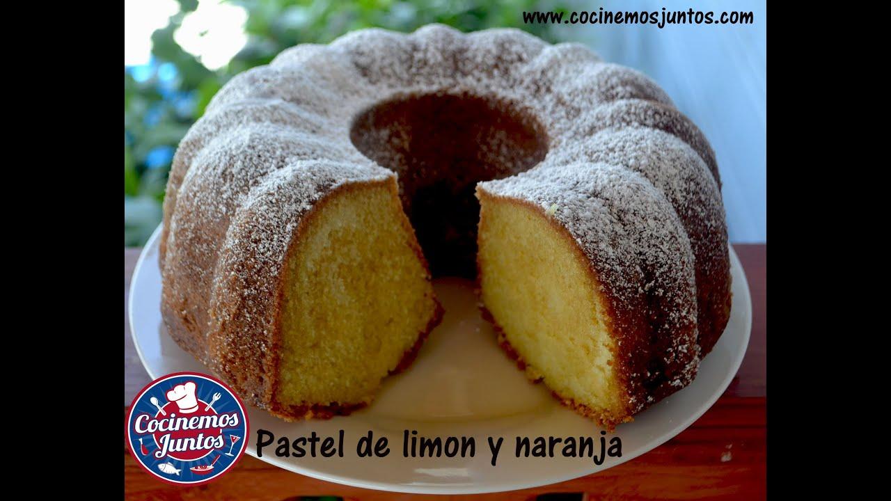 pastel de naranja y limon - Orange and lemon Poundcake