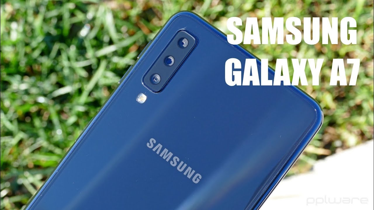 168254c35b Samsung Galaxy A7 (2018) - Análise completa  PT  - YouTube