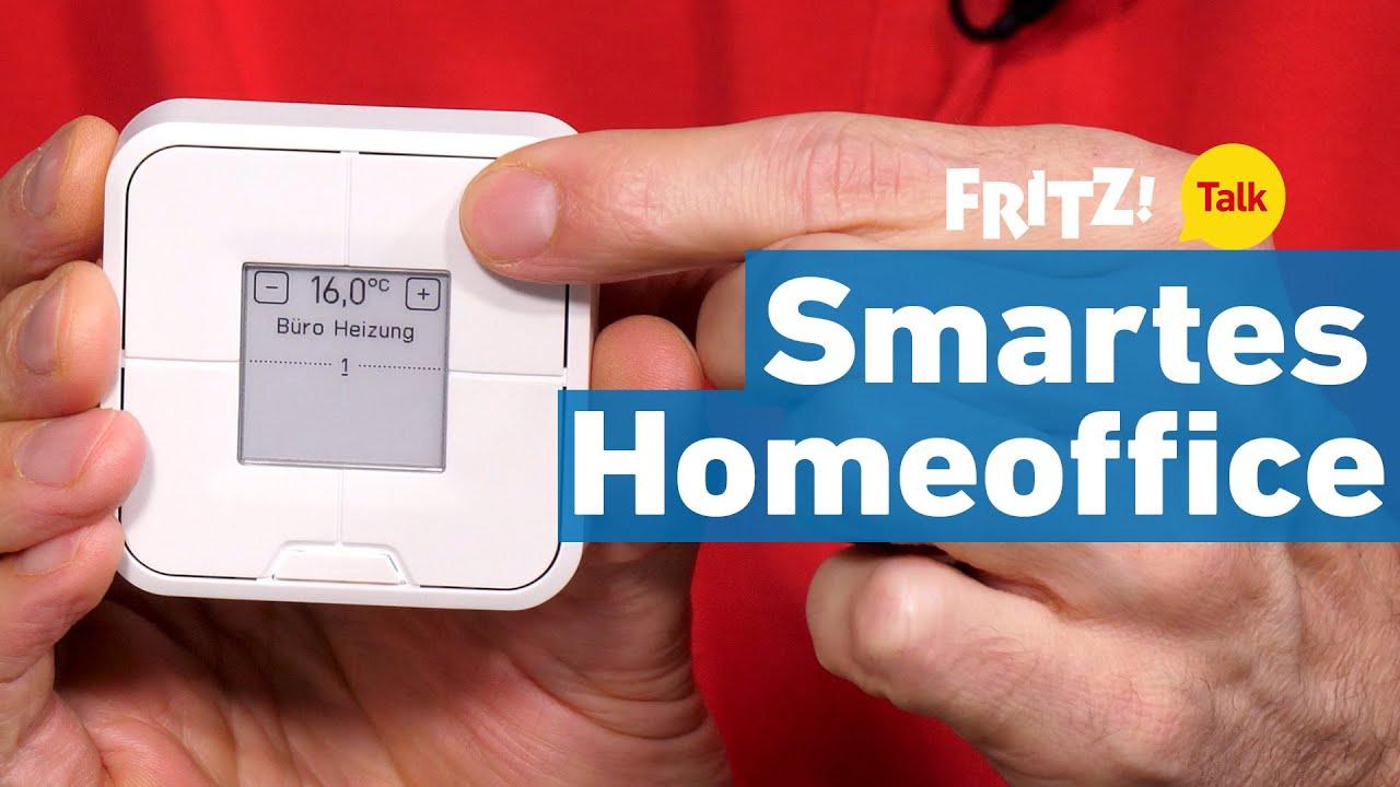 Das smarte Homeoffice: Wärme und Licht mit einem Klick | FRITZ! Talk 36
