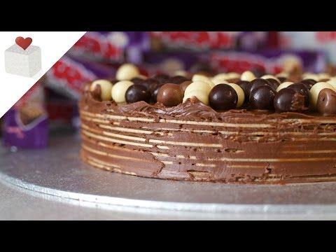 Tarta Express De Nutella Y Obleas De Barquillo Recetas Rápidas Por Azúcar Con Amor